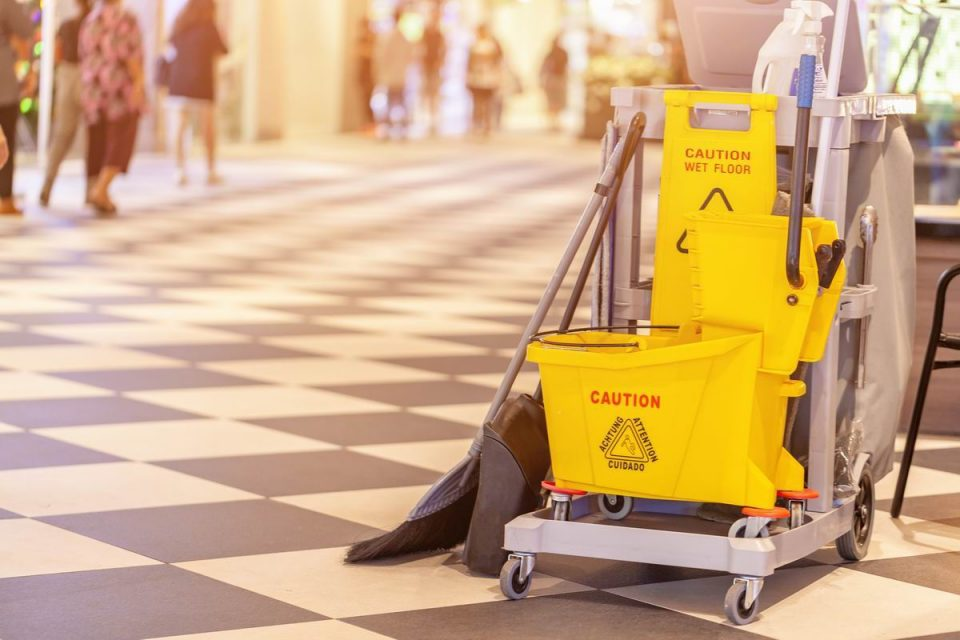 Nettoyage et maintenance du bâtiment
